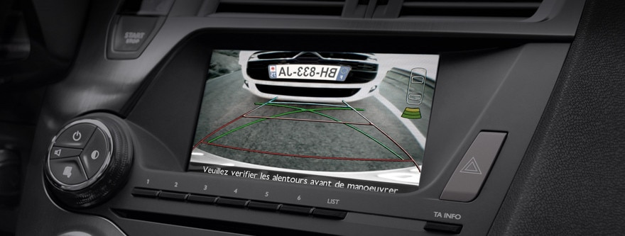 Driving aids - Reversing camera