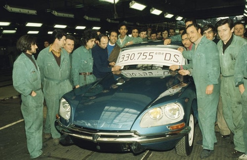 Pariste üretilen son Citroën DS 23